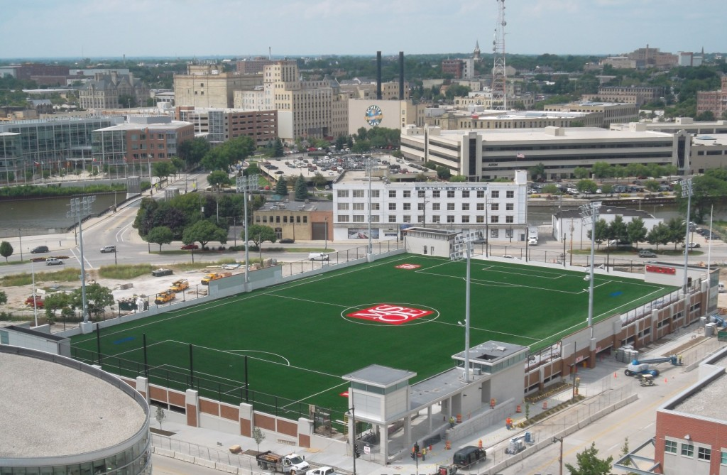 Msoe Soccer Facility Fja Christiansen Commercial Roofing