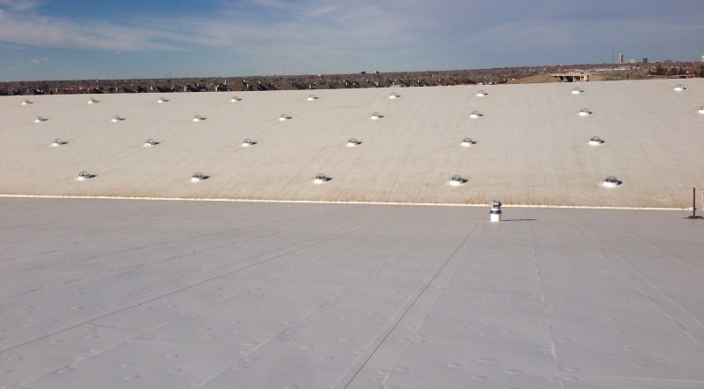Energy Saving For Chs Roof By Tecta America Amarillo
