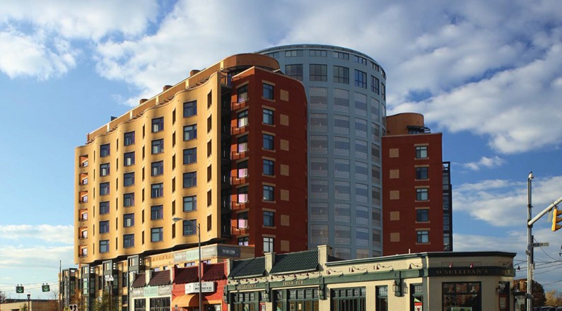 commercial roofing beacon apartments