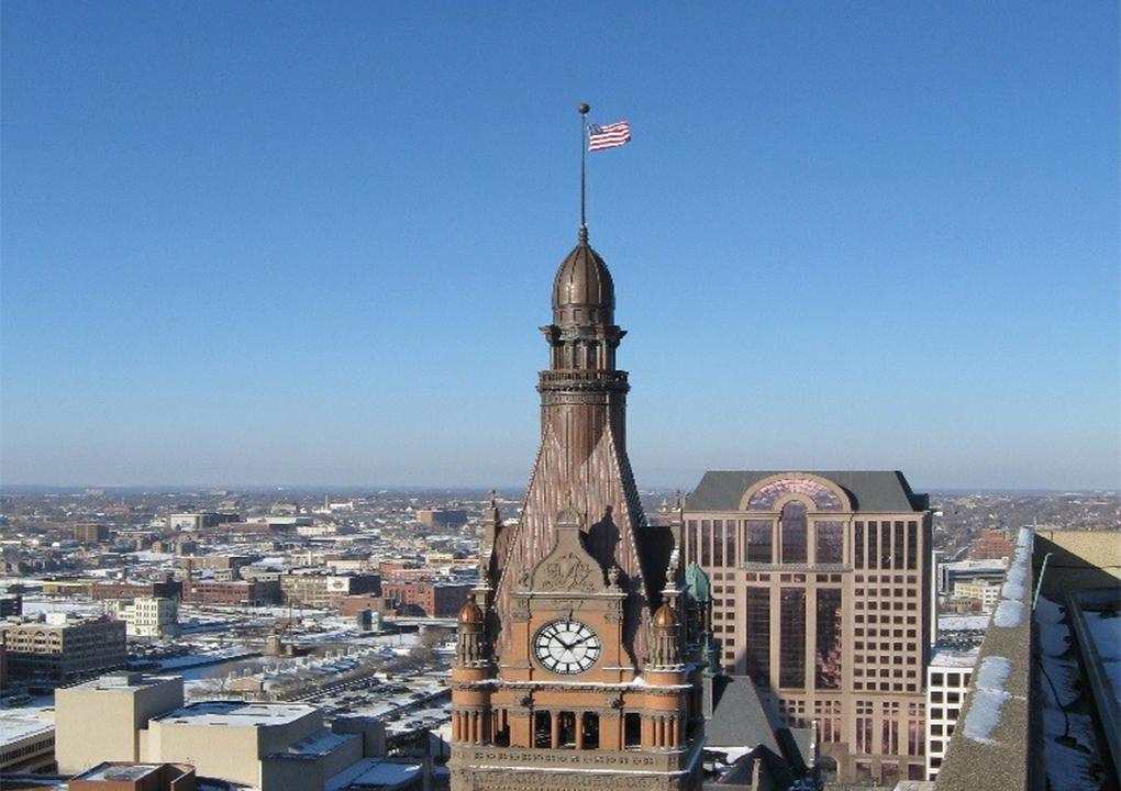 Milwaukee City Hall Fja Christiansen Commercial Roofing