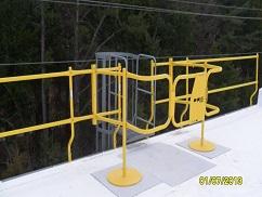 safety rail web