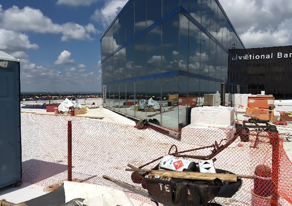 Commercial Roofing Amarillo National Bank Tecta