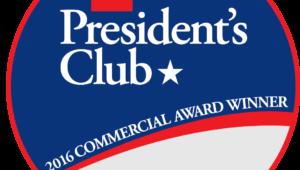 GAF Prestigious President's Award from GAF