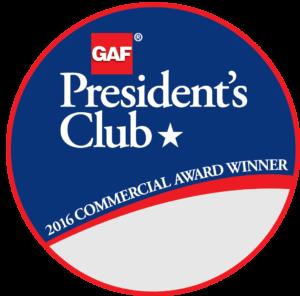 Metalcrafts earns Prestigious President's Award from GAF