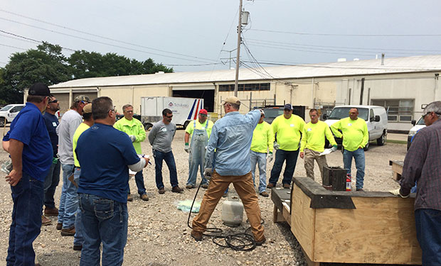 Nrca Certa Torch Class Train The Trainer Commercial Roofing