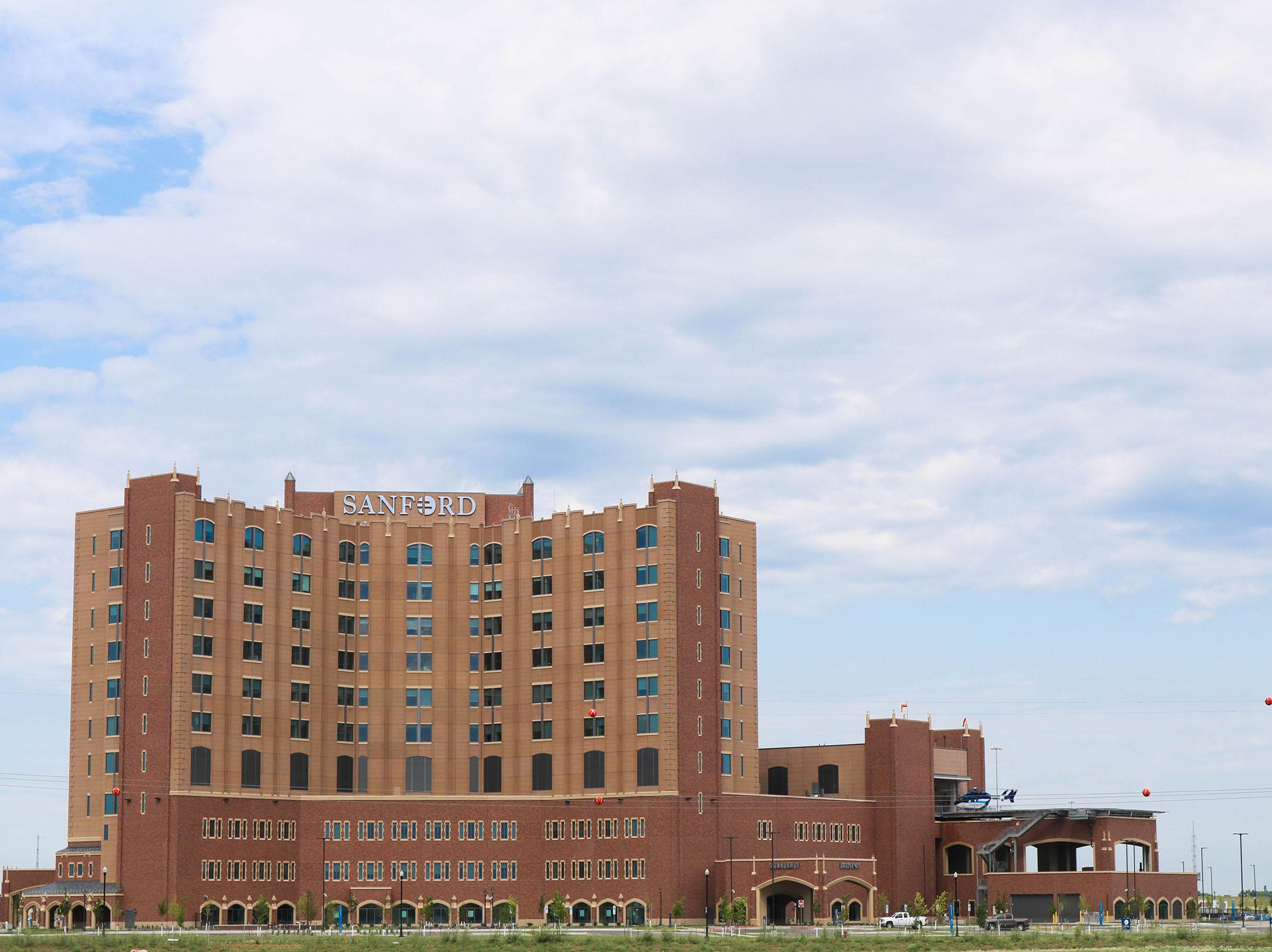 TEcta America Dakotas Sanford medical Center Commercial Roofing