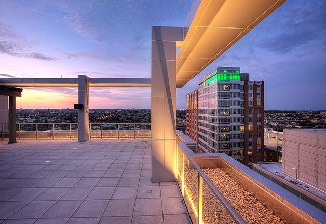 commercial roofing marriott