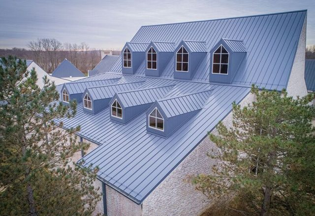 commercial roofing metal roof