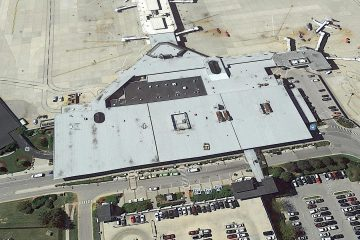 commercial roofing bluegrass airport