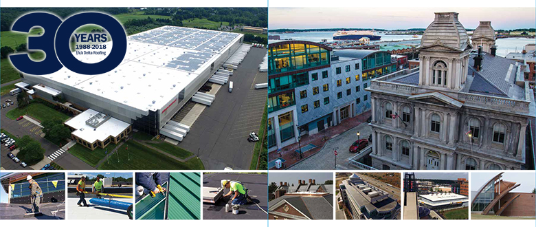 commercial roofing 30 year anniversary