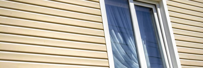 showing vinyl siding
