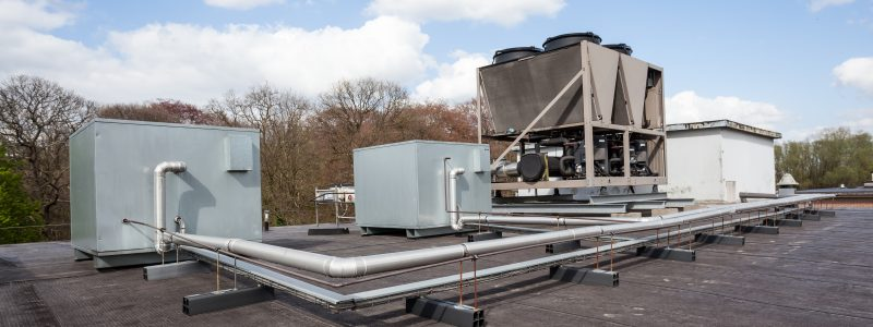 commercial roofing cooling unit