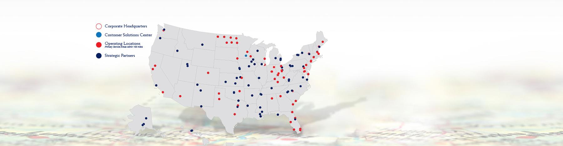 Tecta America Locations