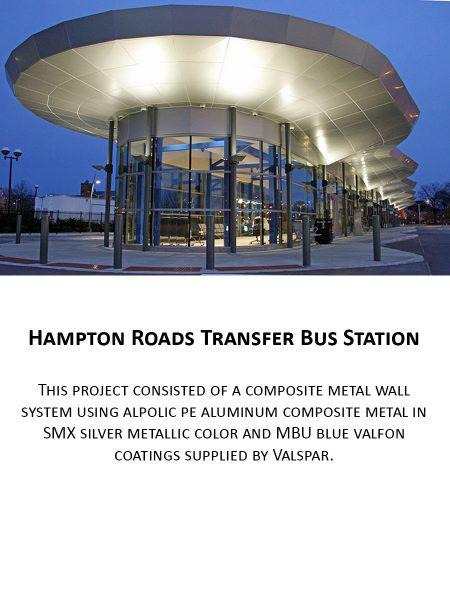 Hampton Roads Transer Bus Station