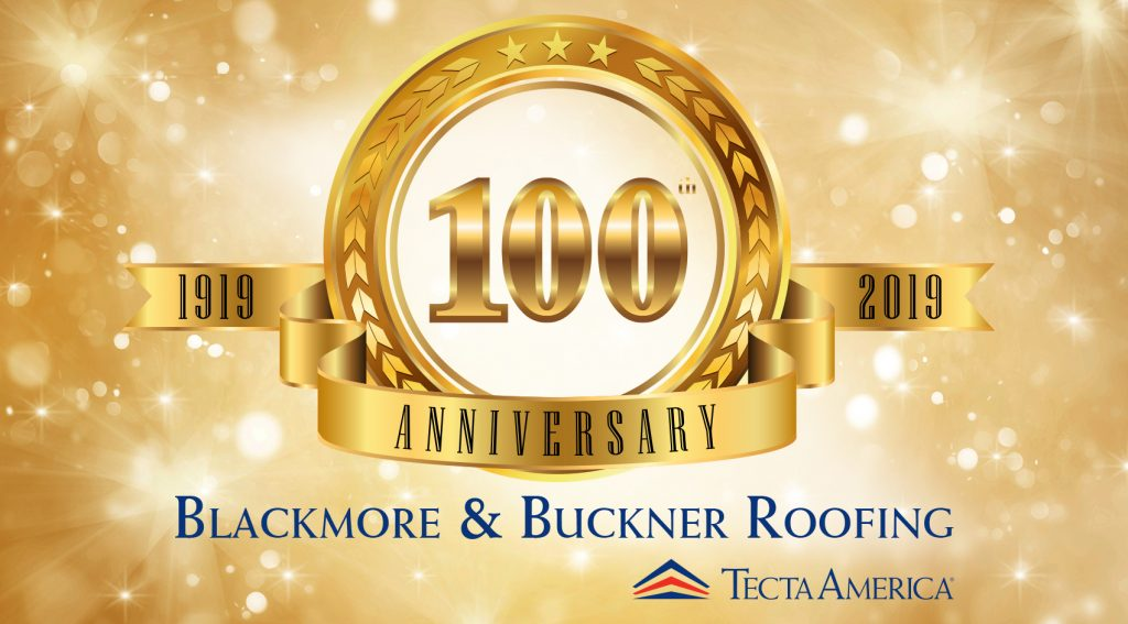 commercial roofing blackmore and buckner 100 years