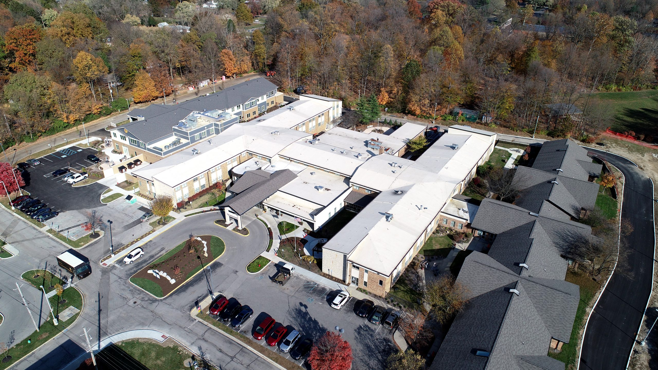 Hooverland assisted living. a ce reeve commercial roofing project