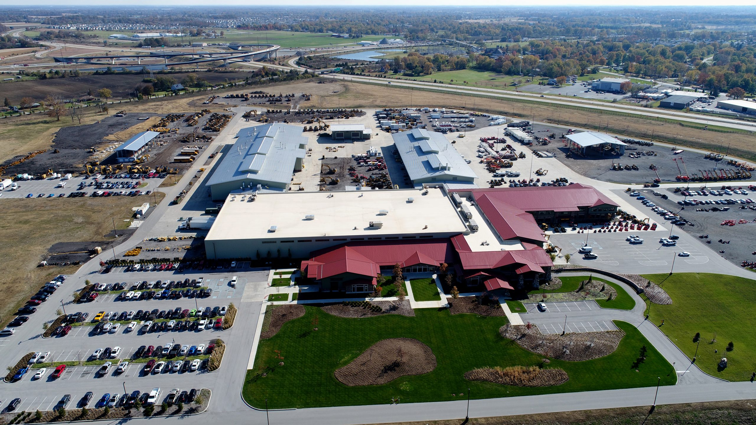Macallister machinery commercial roofing project by ce reeve roofing in Indiana
