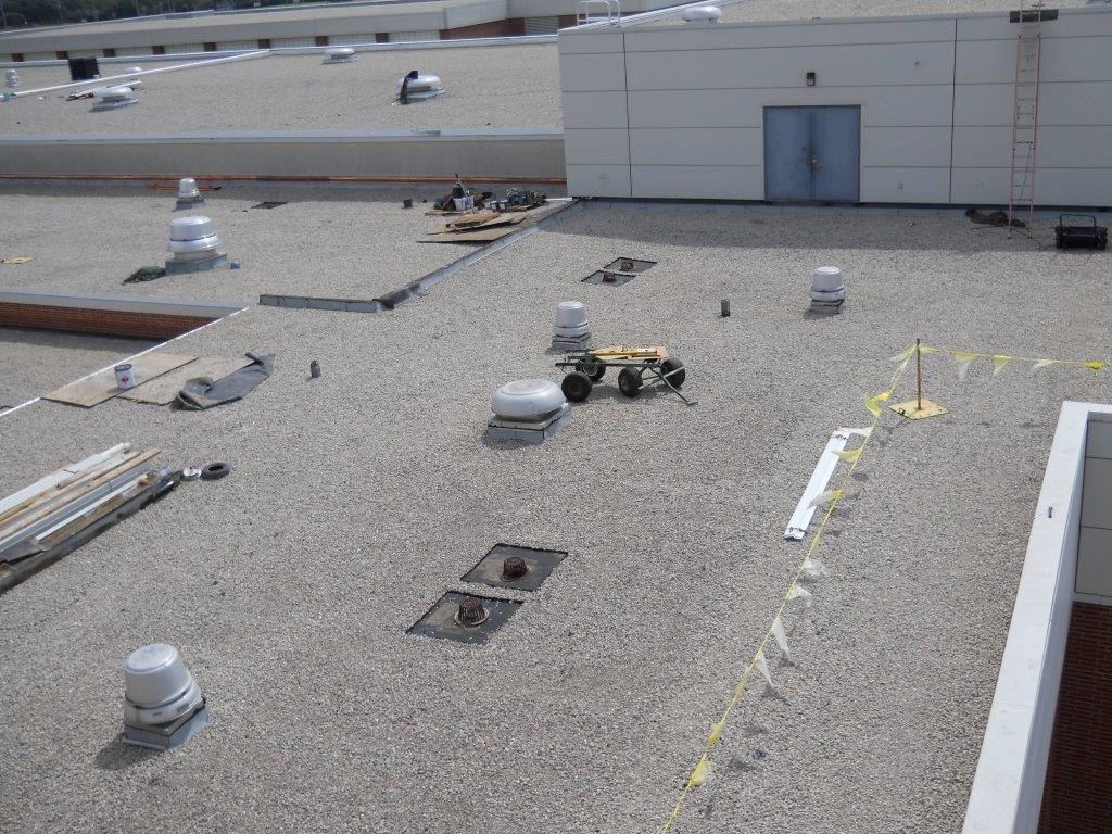 North Central High School Blackmore And Buckner Roofing