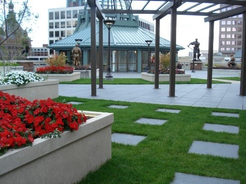 Milwaukee School Of Engineering Rooftop Garden Fja
