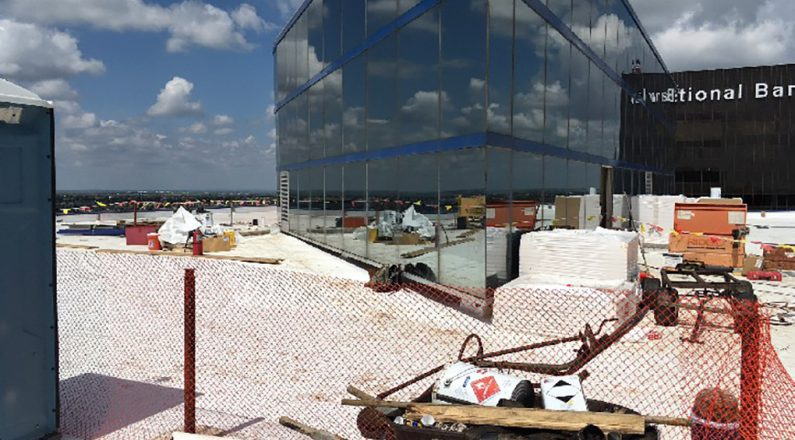 commerical roofing amarillo national bank