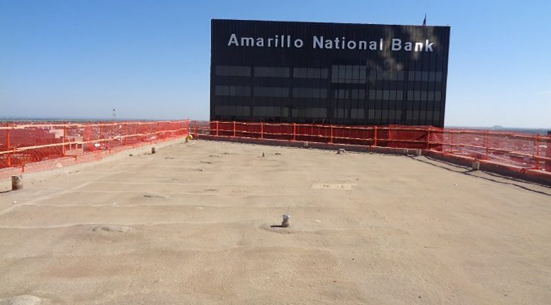 commercial roofing amarillo national bank