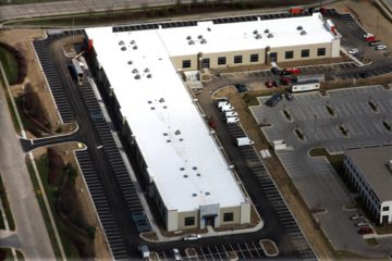 commercial roofing - Innovative Design Center, Indiana