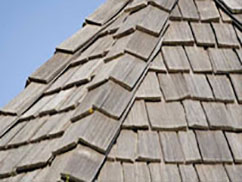 Wood Shakes for residential roofing