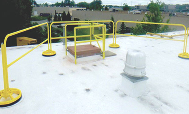 Tecta America Roofing Guardrails