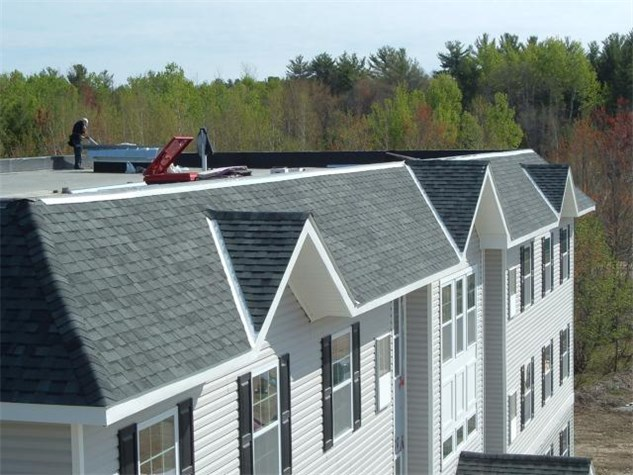 Orchard Trais Housing Project Roof Systems Of Maine