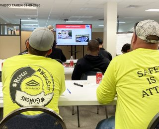 Tecta America Training - 01-09-2020